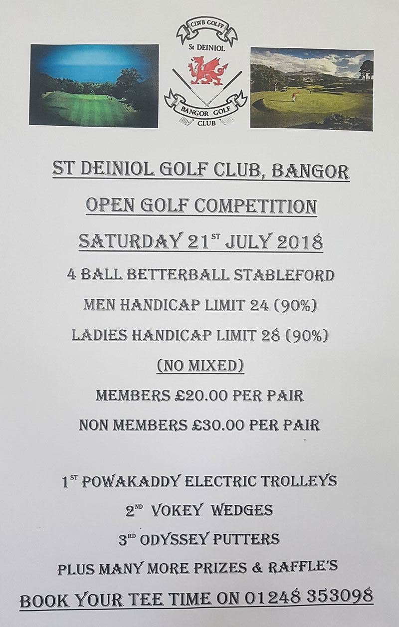 open golf comp